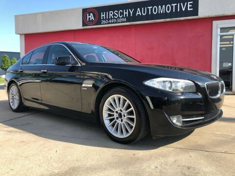 2011 BMW 5 Series for sale at Hirschy Automotive in Fort Wayne IN