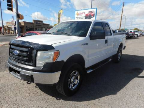 2011 Ford F-150 for sale at AUGE'S SALES AND SERVICE in Belen NM