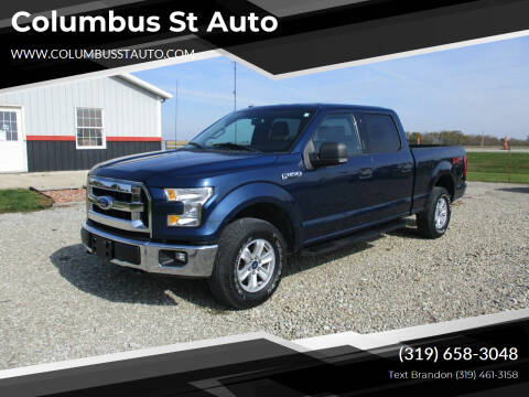 2015 Ford F-150 for sale at Columbus St Auto in Crawfordsville IA