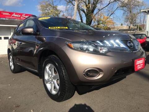 2009 Nissan Murano for sale at Alexander Antkowiak Auto Sales in Hatboro PA