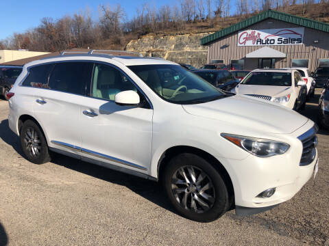 2013 Infiniti JX35 for sale at Gilly's Auto Sales in Rochester MN