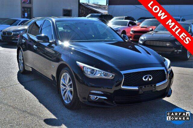2017 Infiniti Q50 for sale at LAKESIDE MOTORS, INC. in Sachse TX