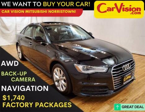 2017 Audi A6 for sale at Car Vision Mitsubishi Norristown in Trooper PA
