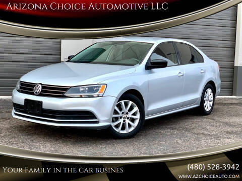 2015 Volkswagen Jetta for sale at Arizona Choice Automotive LLC in Mesa AZ