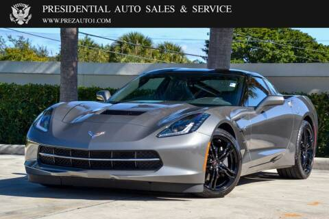2016 Chevrolet Corvette for sale at Presidential Auto  Sales & Service in Delray Beach FL