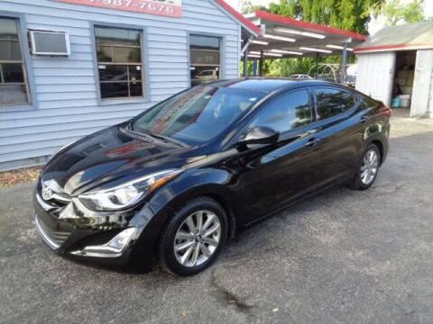2014 Hyundai Elantra for sale at Z Motors in North Lauderdale FL