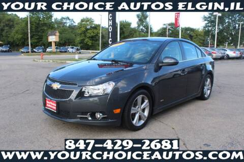 2013 Chevrolet Cruze for sale at Your Choice Autos - Elgin in Elgin IL