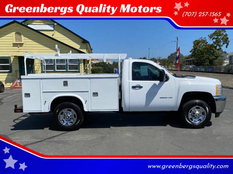 2012 Chevrolet Silverado 2500HD for sale at Greenbergs Quality Motors in Napa CA