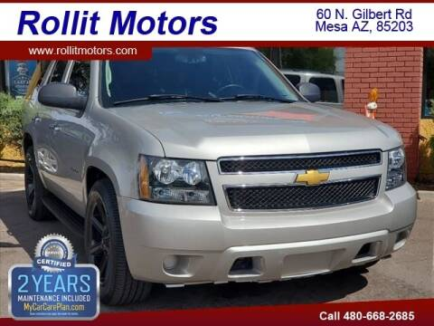 2008 Chevrolet Tahoe for sale at Rollit Motors in Mesa AZ