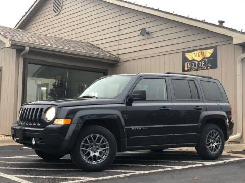 2016 Jeep Patriot for sale at MGM Motors LLC in De Soto KS