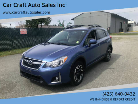 2016 Subaru Crosstrek for sale at Car Craft Auto Sales Inc in Lynnwood WA