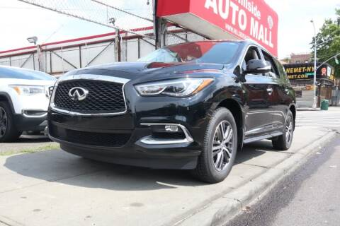2017 Infiniti QX60 for sale at HILLSIDE AUTO MALL INC in Jamaica NY