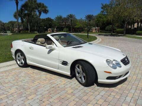 2005 Mercedes-Benz SL-Class for sale at AUTO HOUSE FLORIDA in Pompano Beach FL