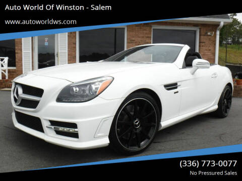 2014 Mercedes-Benz SLK for sale at Auto World Of Winston - Salem in Winston Salem NC