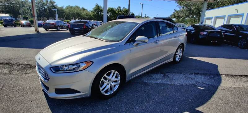 2015 Ford Fusion for sale at Max Auto Sales in Sanford FL