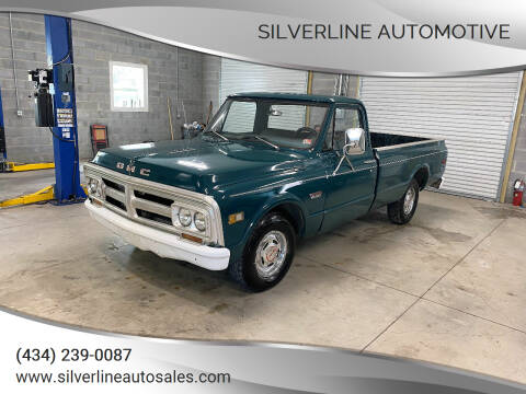 1971 GMC C/K 1500 Series for sale at Silverline Automotive in Lynchburg VA