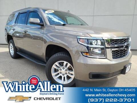 2016 Chevrolet Tahoe for sale at WHITE-ALLEN CHEVROLET in Dayton OH