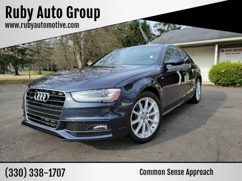 2014 Audi A4 for sale at Ruby Auto Group in Hudson OH