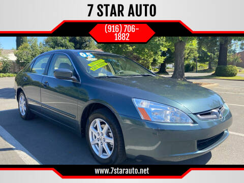 2004 Honda Accord for sale at 7 STAR AUTO in Sacramento CA