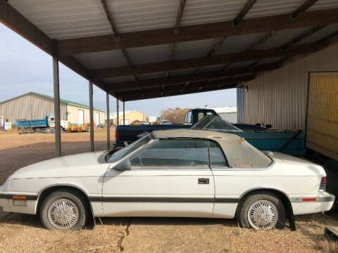 1988 Chrysler Le Baron for sale at Classic Car Deals in Cadillac MI