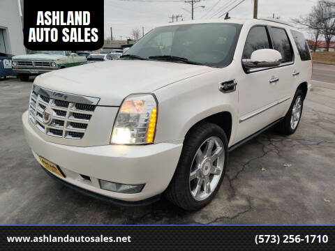 2009 Cadillac Escalade Hybrid for sale at ASHLAND AUTO SALES in Columbia MO