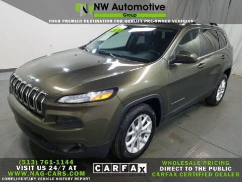 2016 Jeep Cherokee for sale at NW Automotive Group in Cincinnati OH