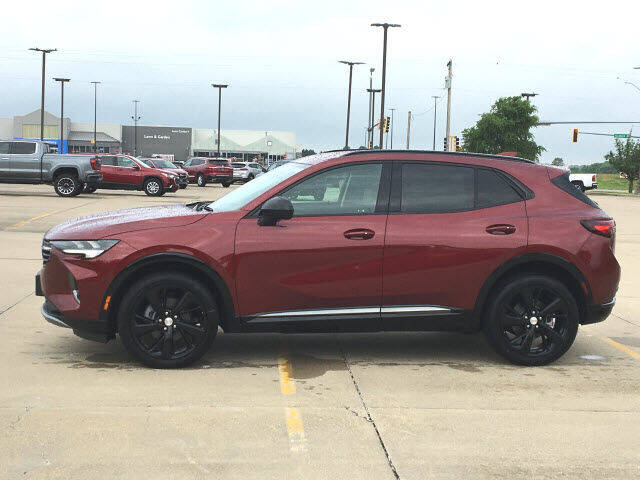2021 Buick Envision for sale at LANDMARK OF TAYLORVILLE in Taylorville IL