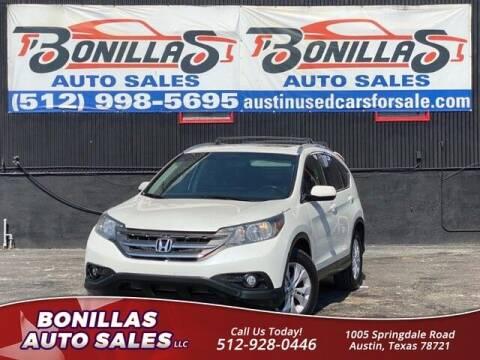 2013 Honda CR-V for sale at Bonillas Auto Sales in Austin TX