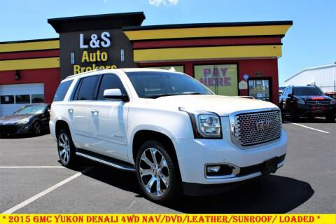 2015 GMC Yukon for sale at L & S AUTO BROKERS in Fredericksburg VA