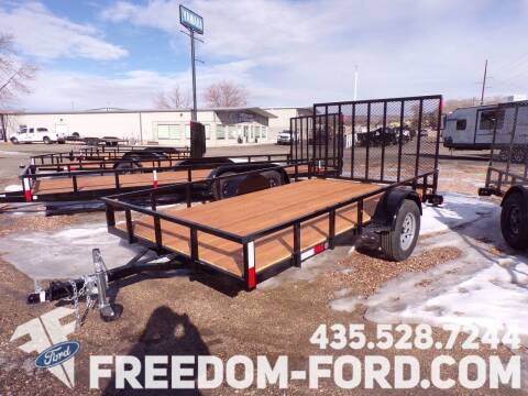 2021 FF OFFROAD 7X12 Single Axle for sale at Freedom Ford Inc in Gunnison UT