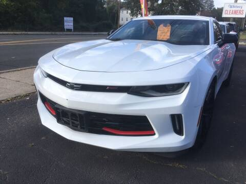 2018 Chevrolet Camaro for sale at MELILLO MOTORS INC in North Haven CT