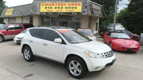 2005 Nissan Murano for sale at Courtesy Cars in Independence MO