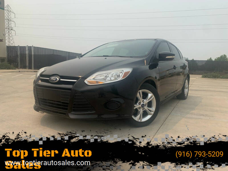 2014 Ford Focus for sale at Top Tier Auto Sales in Sacramento CA