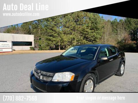 2010 Dodge Avenger for sale at Auto Deal Line in Alpharetta GA