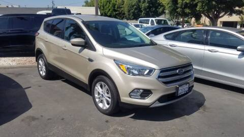 2017 Ford Escape for sale at In-House Auto Finance in Hawthorne CA
