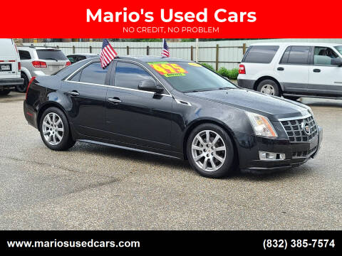2012 Cadillac CTS for sale at Mario's Used Cars - Pasadena Location in Pasadena TX