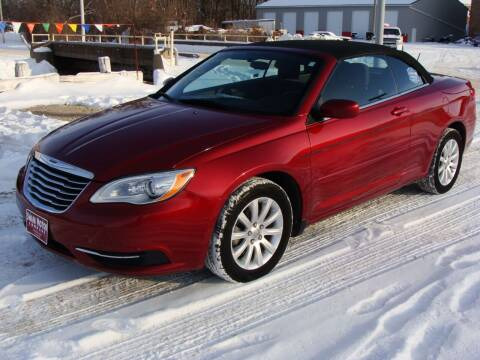 2014 Chrysler 200 Convertible for sale at Swain Motor Company in Cherokee IA