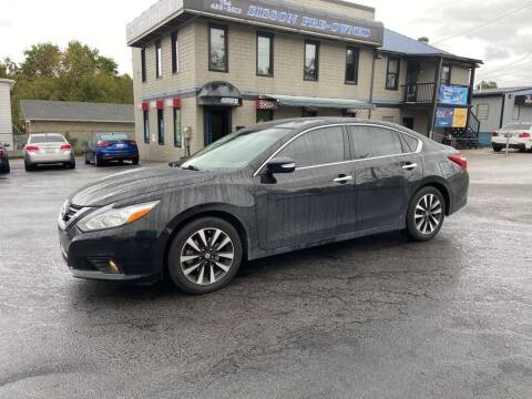 2018 Nissan Altima for sale at Sisson Pre-Owned in Uniontown PA