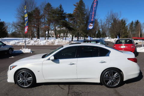 2014 Infiniti Q50 for sale at GEG Automotive in Gilbertsville PA