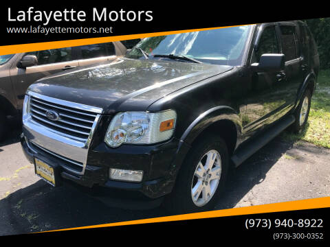 2009 Ford Explorer for sale at Lafayette Motors in Lafayette NJ