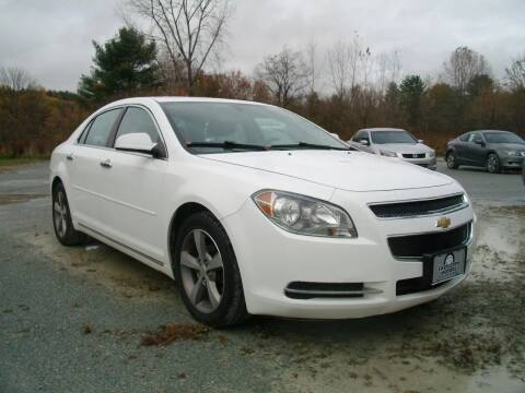 2012 Chevrolet Malibu for sale at Castleton Motors LLC in Castleton VT