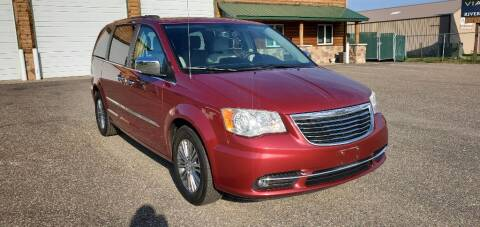 2013 Chrysler Town and Country for sale at Transmart Autos in Zimmerman MN
