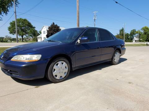 2001 Honda Accord for sale at The Auto Shoppe Inc. in New Vienna IA