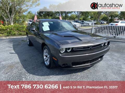 2019 Dodge Challenger for sale at AUTOSHOW SALES & SERVICE in Plantation FL