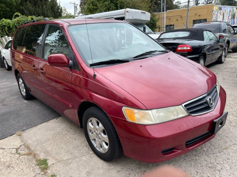 2004 Honda Odyssey for sale at Quality Motors of Germantown in Philadelphia PA