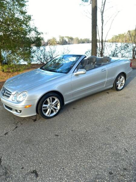 2007 Mercedes-Benz CLK for sale at Calvary Cars & Service Inc. in Norfolk VA
