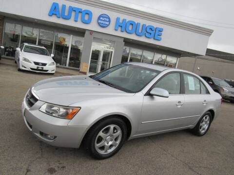 2006 Hyundai Sonata for sale at Auto House Motors in Downers Grove IL