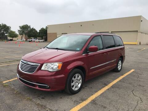 2011 Chrysler Town and Country for sale at A & R Auto Sale in Sterling Heights MI
