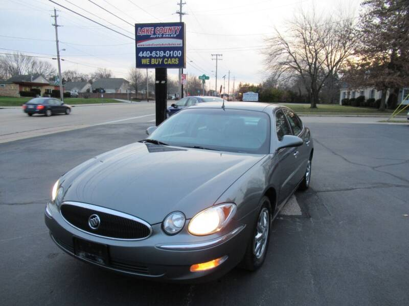 2005 Buick LaCrosse for sale at Lake County Auto Sales in Painesville OH