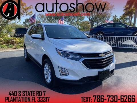 2018 Chevrolet Equinox for sale at AUTOSHOW SALES & SERVICE in Plantation FL